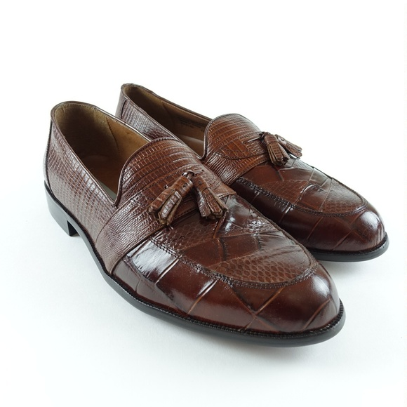 a78e9ba06b Stacy Adams Men s Santana Tassel Leather Loafers. M 5aed36f03316277a477c08c2